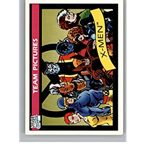 1990 Impel Marvel Universe #140 Team Pictures: X-Men Non Sport Entertainment Trading Card in Raw (NM or Better) Condition