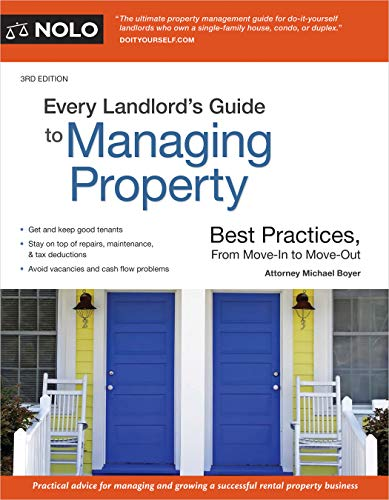 Real Estate Investing Books! - Every Landlord's Guide to Managing Property: Best Practices, From Move-In to Move-Out