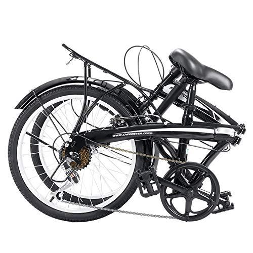 Bicicleta Plegable,Engranajes De 7 Velocidades Profesionales-Trabajo Ligero Para Mujer Adulto Adulto Ultra Ligero Variable Variable Velocidad Portátil Pequeño Estudiante Pequeño Estudiante Masculino B