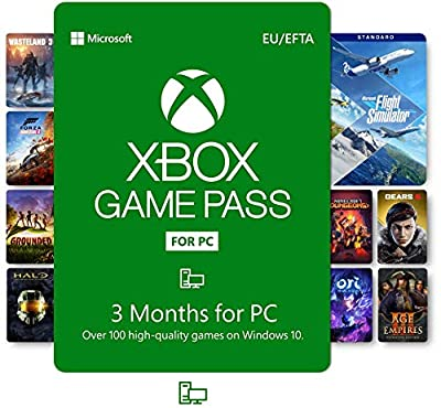 Xbox Game Pass for PC | 3 Month Membership | Windows 10 PC Code