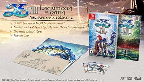 Ys VIII Lacrimosa of DANA Adventurer's Edition Nintendo Switch Game (#) [Importación inglesa]