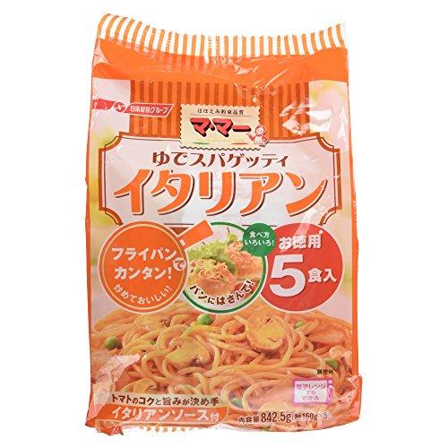 マ・マー ゆでスパゲッティ イタリアン 842.5g 5食入