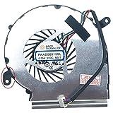 (4 pines – GPU versión 2) Ventilador ventilador ventilador compatible para MSI GL62M 7RD-256, GL62MVR 7RFX-1203, GL62M 7RDX-1096, GL62M 7RDX-1639, GL62M 7RE-406, GL62M 7REX-2806