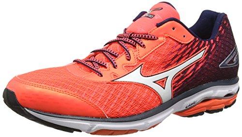 Mizuno Men's Wave Rider 19 Coral Running Shoes-9 UK/India (43 EU) (J1GC160301)