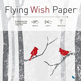 Flying Wish Paper Winter Wishes, Large