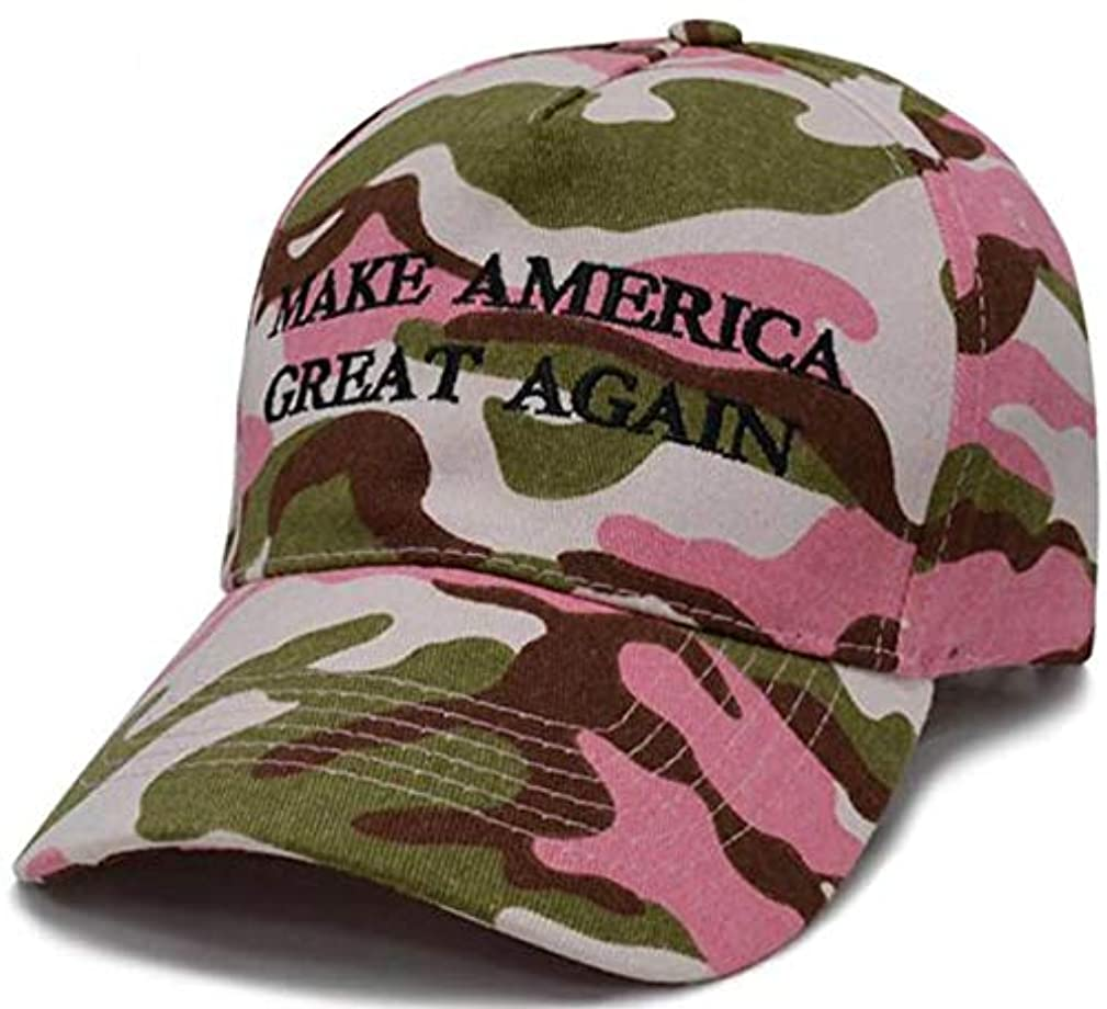 Smartvip 2020 Donald Trump Camo Hat Re-Election Keep America Great Embroidery Adjustable Cap
