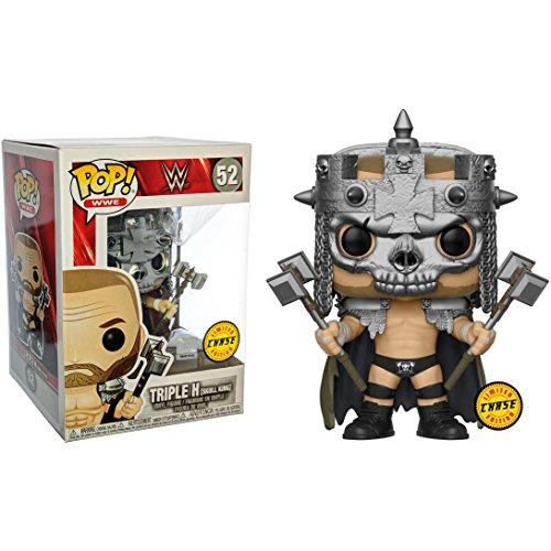Funko Triple H [Skull King] (Chase Edition) Pop! Figura de Vinilo WWE