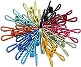 Multi-Purpose Clothesline Utility Clips,...