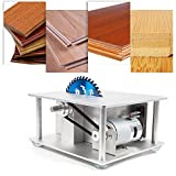 Mini Table Saw Woodworking Table Saw Precision Small Potable Benchtop Table Saw DIY Woodworking Cutting Machine for Make Crafts Model Making At Home 5000R/MIN Sawing Height 30mm