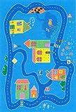 W. Eulberg Kollektion carpet for kids Spielteppich City Modell 2 - 140 x 200 cm -