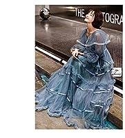 ドレス パーティードレス ウェディングドレス カラードレス ステージドレス マーメイドドレス カクテルドレス フィッシュテール Aライン レディース aruka_filippa S