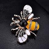 yuge Hermoso broche colorido abeja ColorfulBee