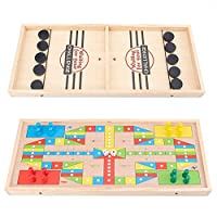 カタパルトチェス2 in 1アイスホッケーゲームテーブルデスクトップバトル親子の相互作用カタパルトボードゲームバウンスチェステーブルホッケーおもちゃ