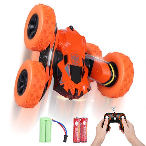 STOTOY RC Stunt Car Voiture Télécommandée avec Batterie Rech