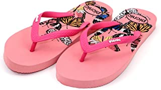 PICNIC Pink Unique Thong Design Slippers for Women