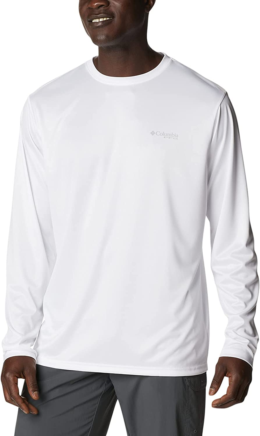 Columbia Men's Terminal Tackle PFG State Triangle Long Sleeve