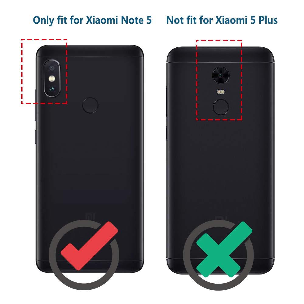 Anjoo Funda Compatible con Xiaomi Redmi Note 5, Carcasa Suave TPU Silicona Carcasa Conchoques Protectora, antichoque, Carcasa con Fibra de Carbono, Negro: Amazon.es: Electrónica
