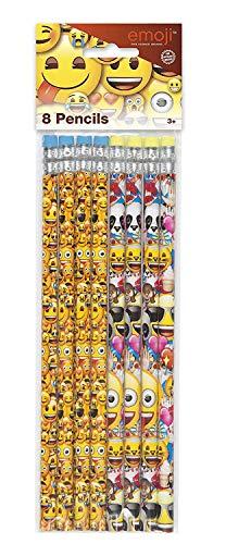 Partygeschenke - Emoji-Bleistifte - 8er-Pack