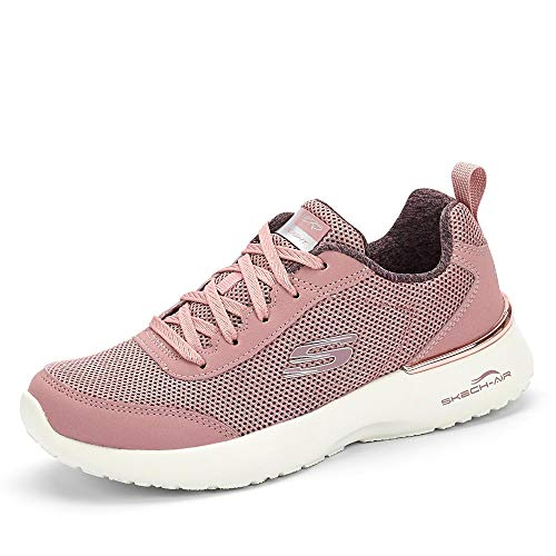 Skechers Skech-Air Dynamight-Fast Brak, Zapatillas Mujer, Morado (Mauve Mesh/Off White Trim MVE), 37 EU