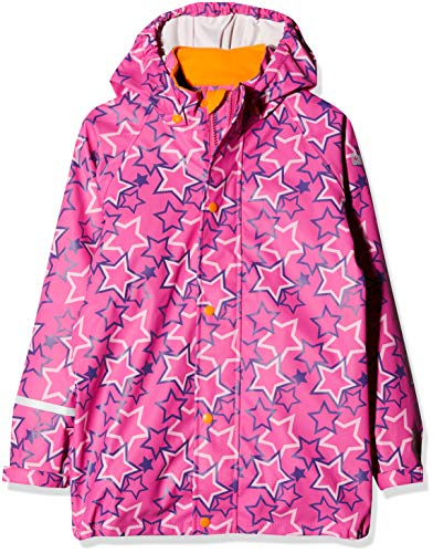 CareTec Kinder wasserdichte Regenjacke,Mehrfarbig (Royal Purple 633), 74 (9 monate)