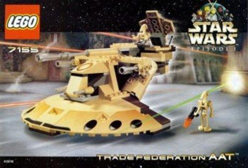 LEGO Star Wars 7155 - Trade Federation AAT, 158 Teile