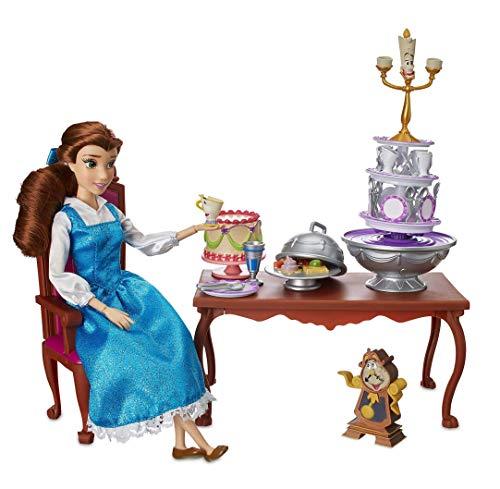 DS Disney Store - Muñeca La Bella y la Bestia, Juego Play Grande Deluxe, 30 cm, Princesa Original