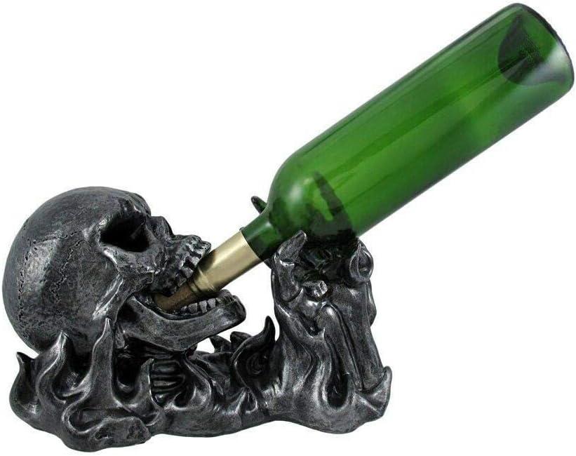 Statue Figurine Statuary Decor - Gargle b Ranking TOP10 Wine Skull Free shipping of Engulfed