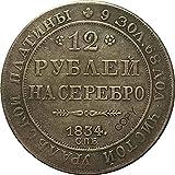 1834 Rusia emitió 12 Monedas de Platino