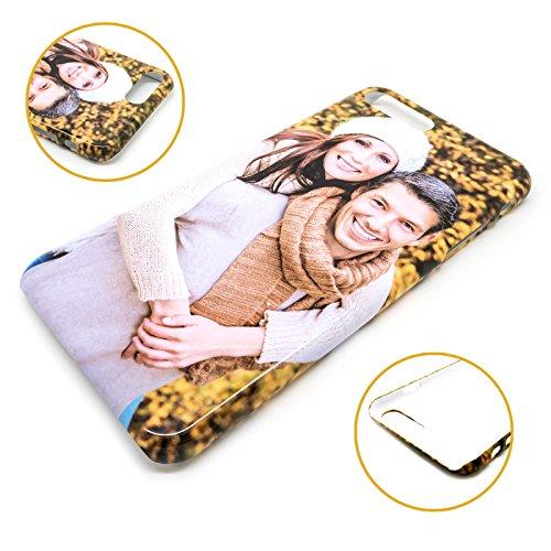 PixiPrints Premium Handyhülle selbst gestalten mit eigenem Foto und Text * Bild Schutzhülle, Kompatibel mit Apple iPhone 6 / 6S, Hüllentyp: 3D Hülle