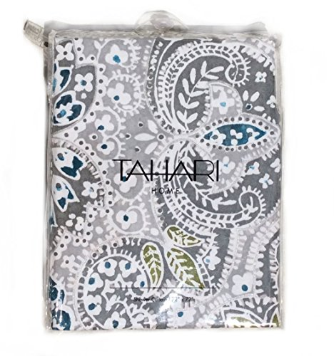 Tahari Shower Curtain Mica Paisley Medallion Print
