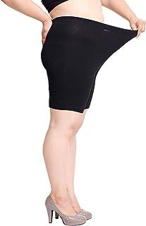[ゴールドジャパン] 大きいサイズ レディース 股ずれ 防止 パンツ 三分 丈 スパッツ ショート インナー ウエスト ゴム