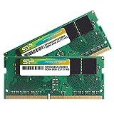 シリコンパワー  ノートPC用メモリDDR4-2400(PC4-19200) 8GB×2枚 260Pin 1.2V CL17 永久保証 SP016GBSFU240B22