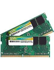 シリコンパワー ノートPC用 メモリ DDR4 2400 PC4-19200 8GB x 2枚 (16GB) 260Pin 1.2V CL17 Mac 対応 SP016GBSFU240B22