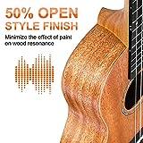 Immagine 1 vangoa ukulele da concerto per
