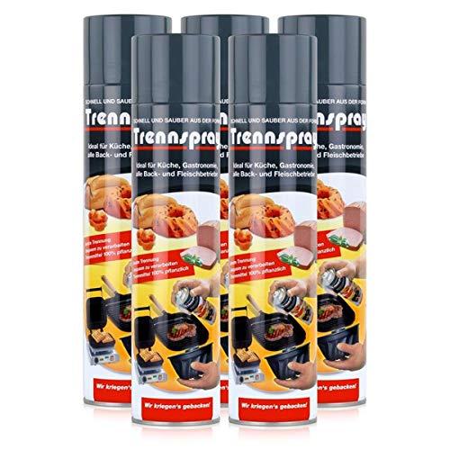 Boyens Trennspray 600ml Dose ( 5er Pack ) Trennfett Grillspray Backtrennmittel