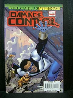 Damage Control #3 (of 3) World War Hulk Aftersmash WWH