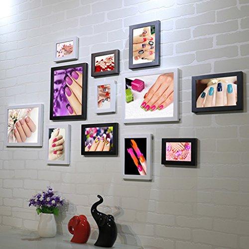 William 337 Nail Shop Fotowand Beauty Salon Nail Cosmetics Shop Dekorativer Malrahmen Wand Kombination Gemälde (Farbe: A)