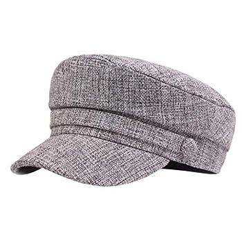 Iusun Men Women Berets Hat Korean Painter Newsboy Baggy Headgear Vintage Fashion Slouchy Navy Caps