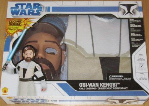 Disfraz de Obi-Wan Kenobi para niños, M 5-7 años, Star Wars