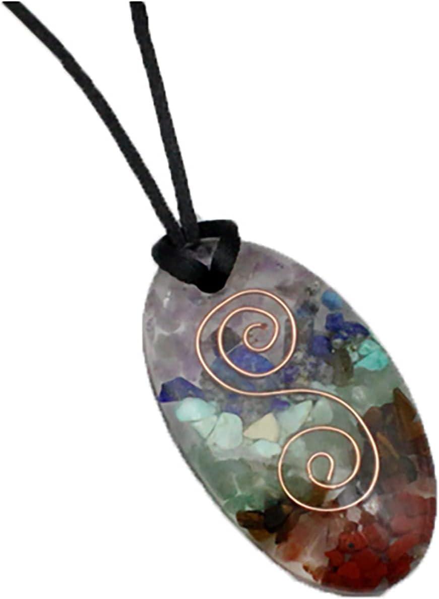 Anjing Chakra safety Stones Healing Crystals Weekly update Pendant Aura Chakr Seven D