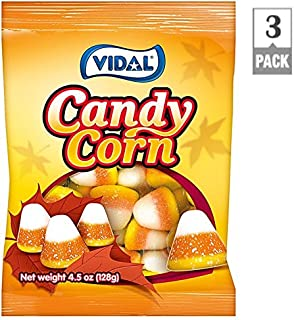 Vidal Gummy Candy Corn 4.5 oz - 3 Packs - Gummi Candy