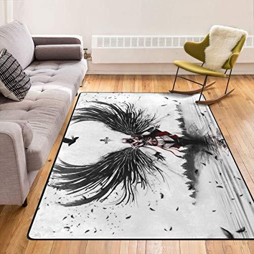 EnlaMorea Assassin S Creed Teppich, rutschfest, für Wohnzimmer, Zuhause, Schlafzimmer und Kinder, Spielteppich, 213,4 x 152,4 cm