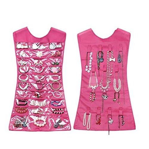 CareforYou® - Organizador colgante de vestido, organizador de joyas, aretes, joyas, organizador...