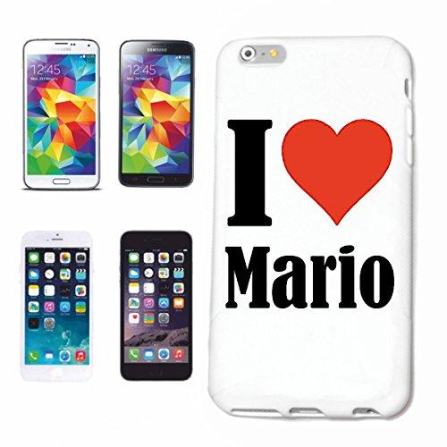 Reifen-Markt Handyhülle kompatibel mit Samsung Galaxy S4 i9500 I Love Mario Hardcase Schutzhülle Handy Cover Smart Cover