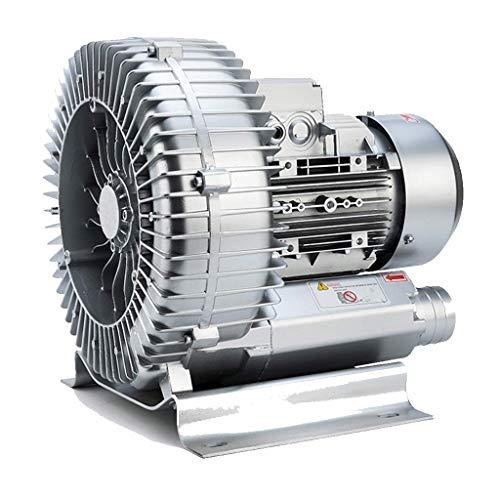 LXLH Ventilatore, centrifugo, adsorbimento sottovuoto a Guscio in Lega di Alluminio Motore in Rame Puro Base sismica aspirazione a Soffio ad Alta Pressione a Doppio Scopo, aerazione per laghetto