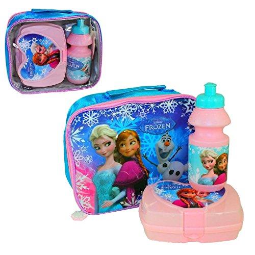 Disney Frozen - Set per il pranzo, 3 pezzi