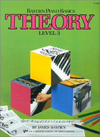 Bastien Piano Basics Theory Level 3: Lehrmaterial, Technik für Klavier
