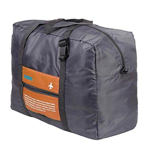 Outgeek bagagli borsa pieghevole impermeabile capacità Borsone grande per i viaggi