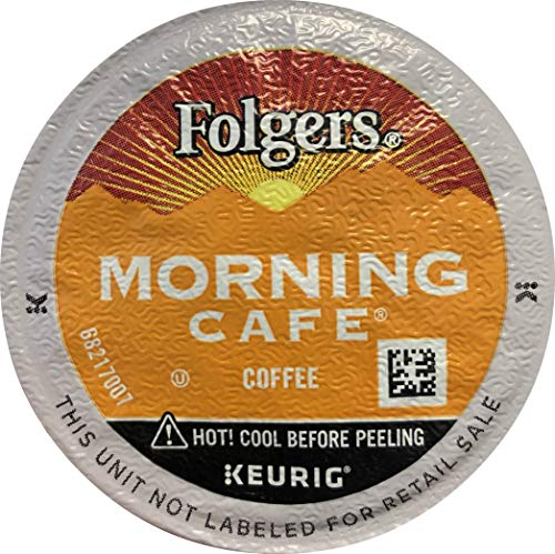 FOLGERS GOURMET SELECTIONS MORNING CAFE K CUP COFFEE 120 COUNT