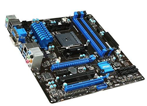 MSI A78M-E45 - Placa Base (FM2 / FM2+, Socket 906 (FM2+), uATX): Amazon.es: Informática